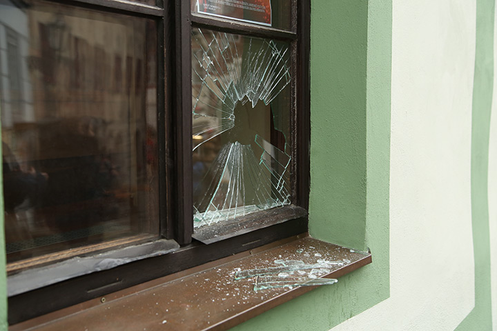 A2B Glass are able to board up broken windows while they are being repaired in Chingford.
